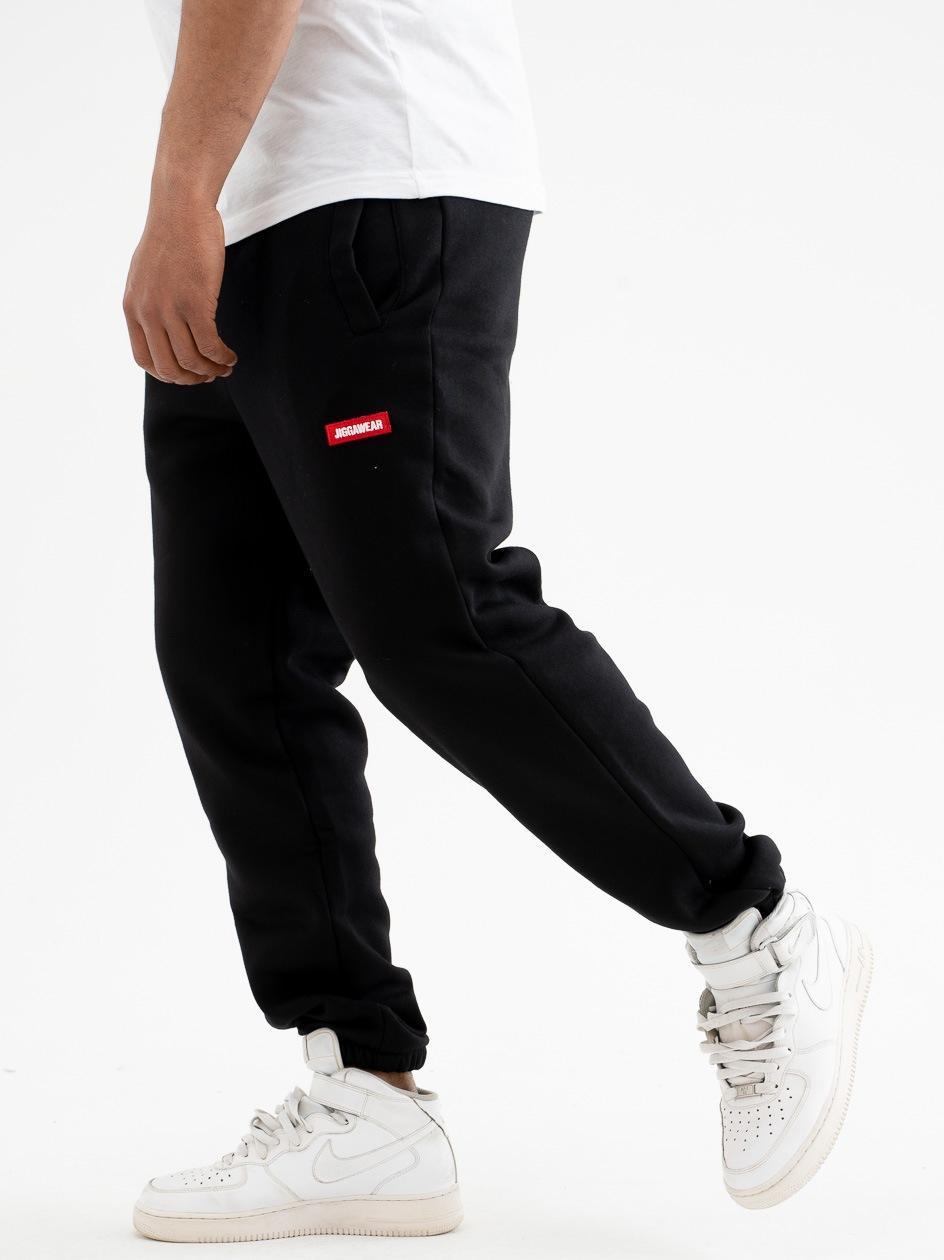 Spodnie Dresowe Jigga Wear Name Czarne