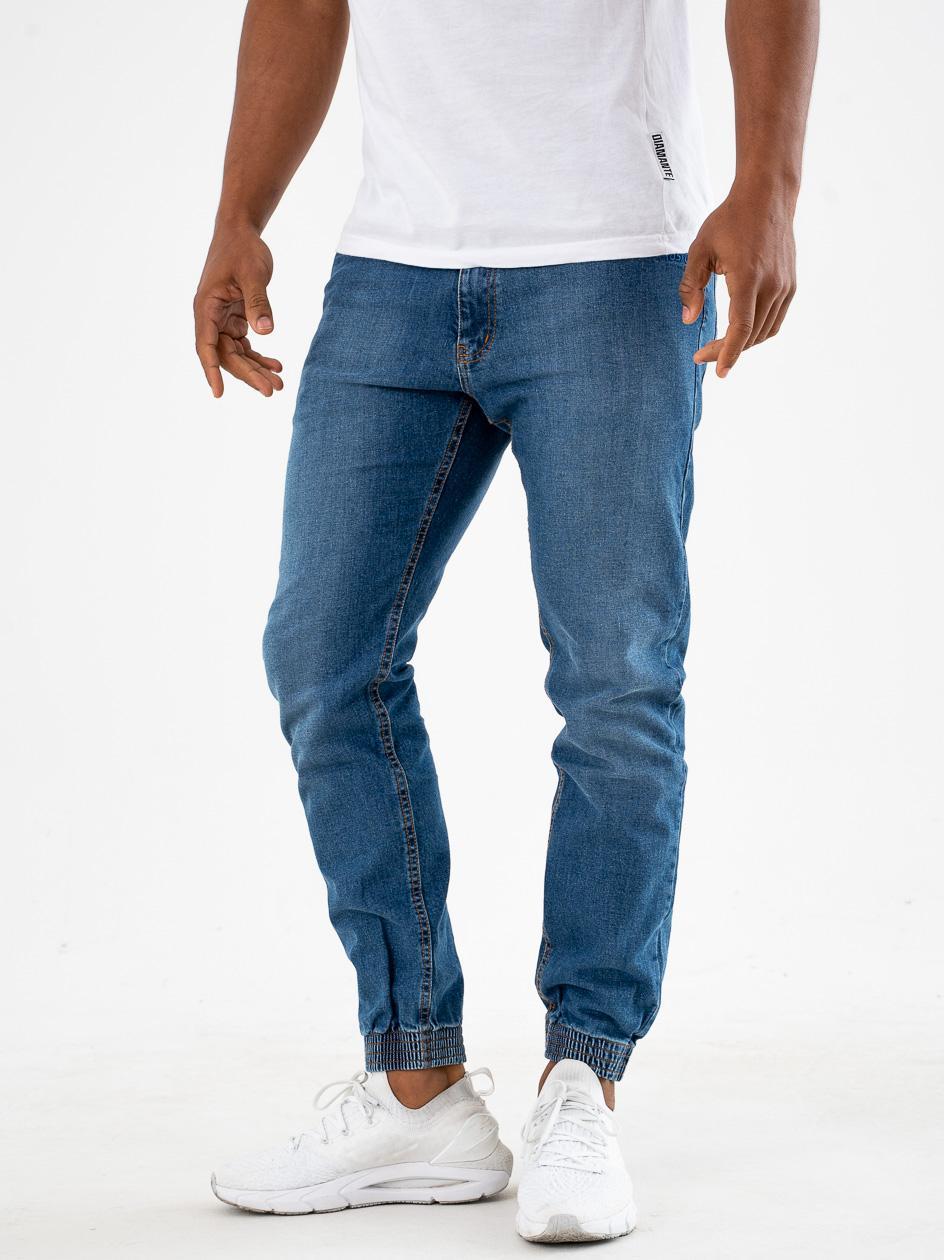 Spodnie Jeansowe Jogger Prosto Munk Niebieskie