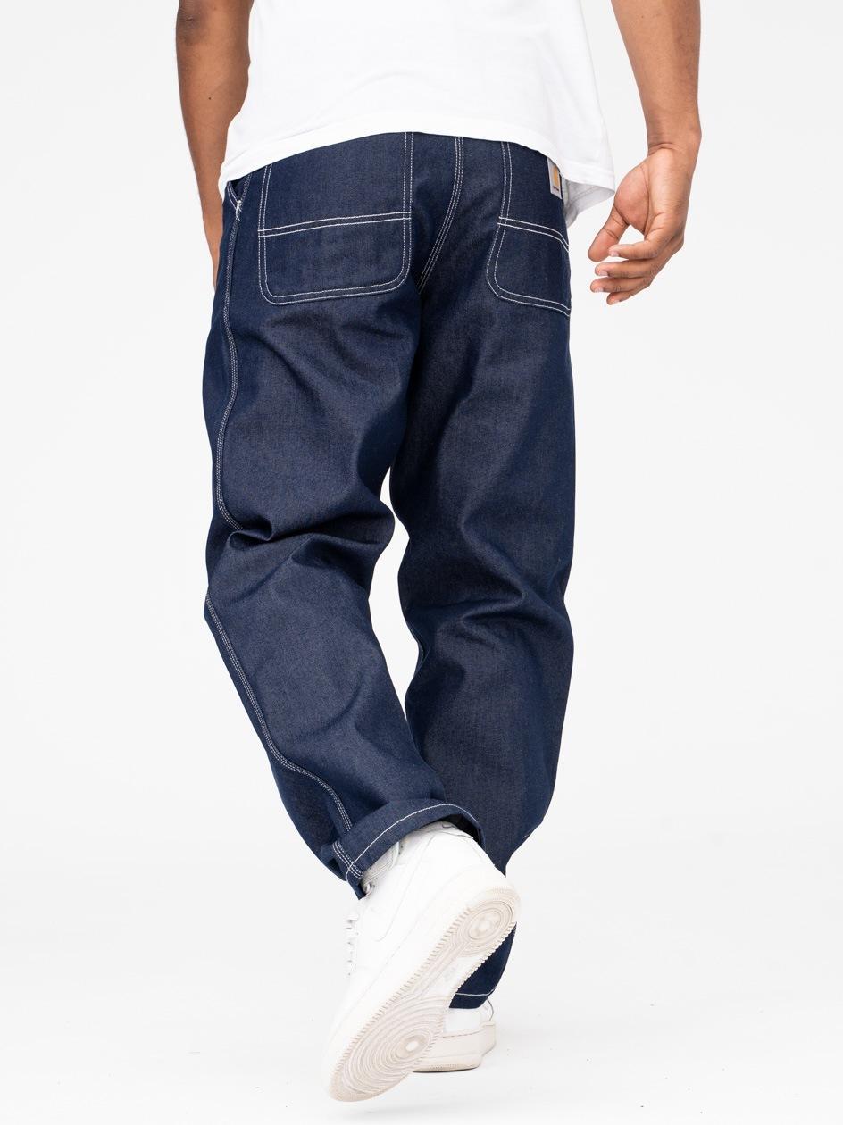 Spodnie Jeansowe Carhartt Simple Norco Cotton Ciemne Niebieskie