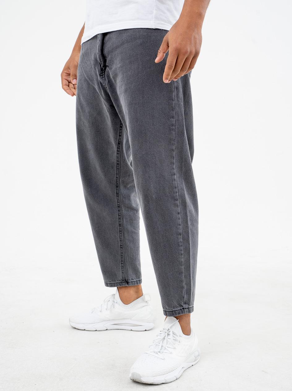 Spodnie Jeansowe Breezy Classic Ciemne Szare