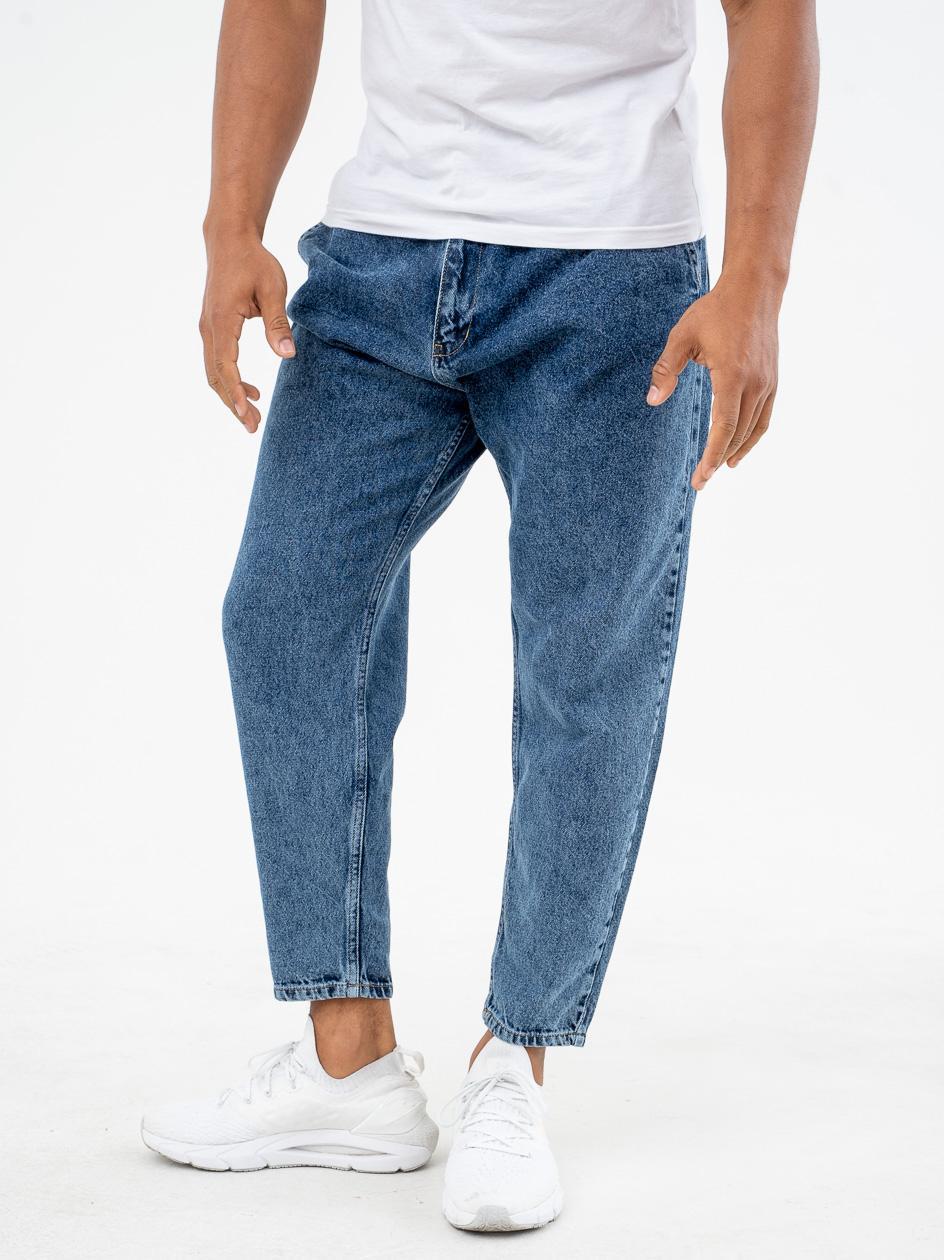 Spodnie Jeansowe Breezy Classic Ciemne Niebieskie