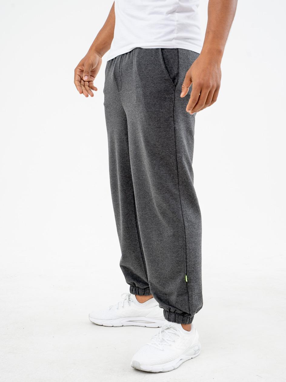 Spodnie Dresowe Breezy Straight Szare