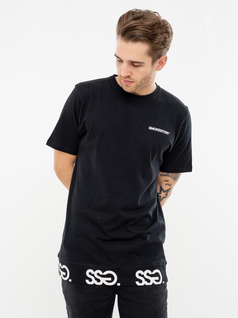 Koszulka Z Krótkim Rękawem SSG Multissg Czarna