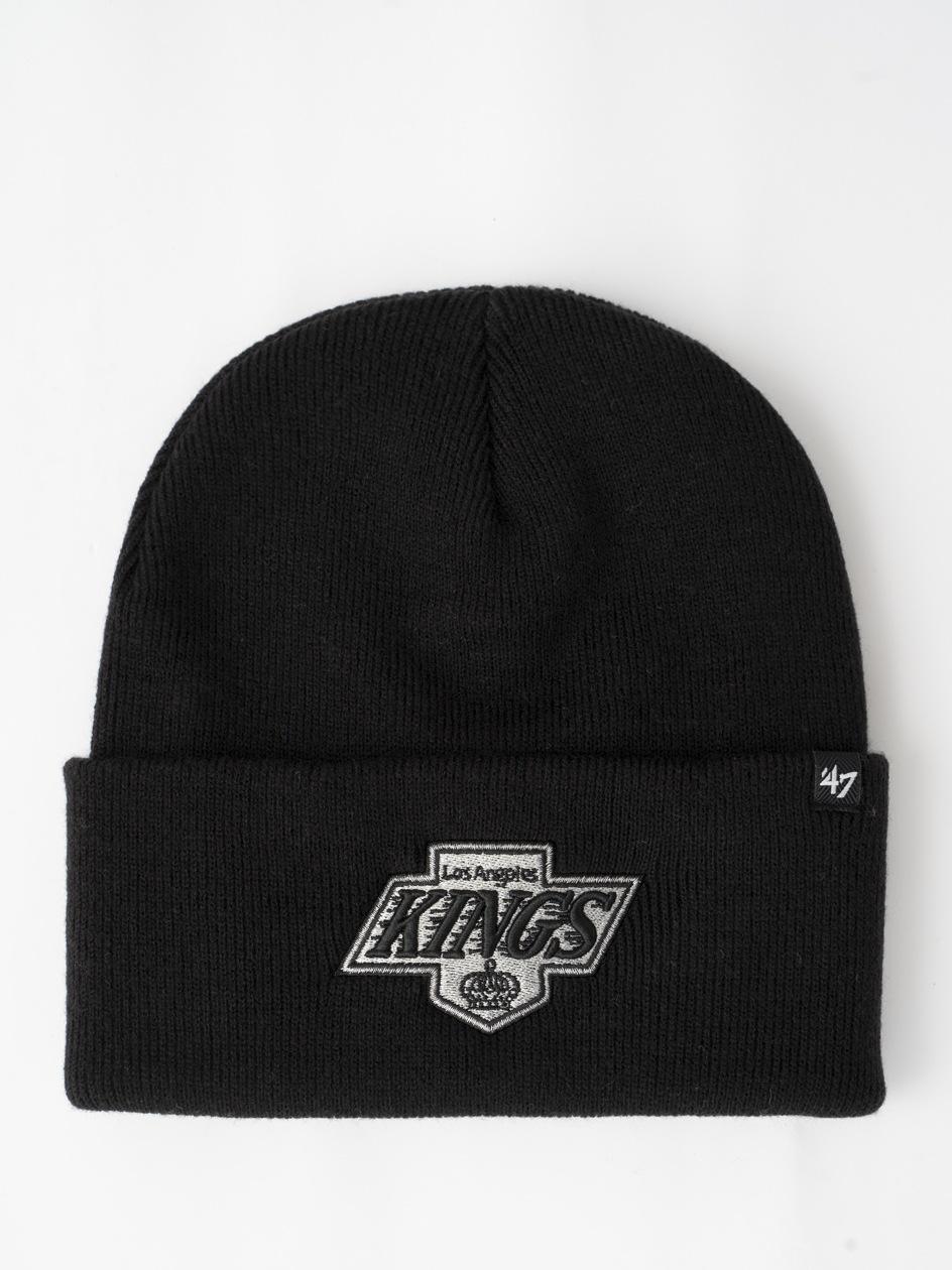 Czapka Zimowa 47 Brand Los Angeles Kings NHL Haymaker '47 Czarna