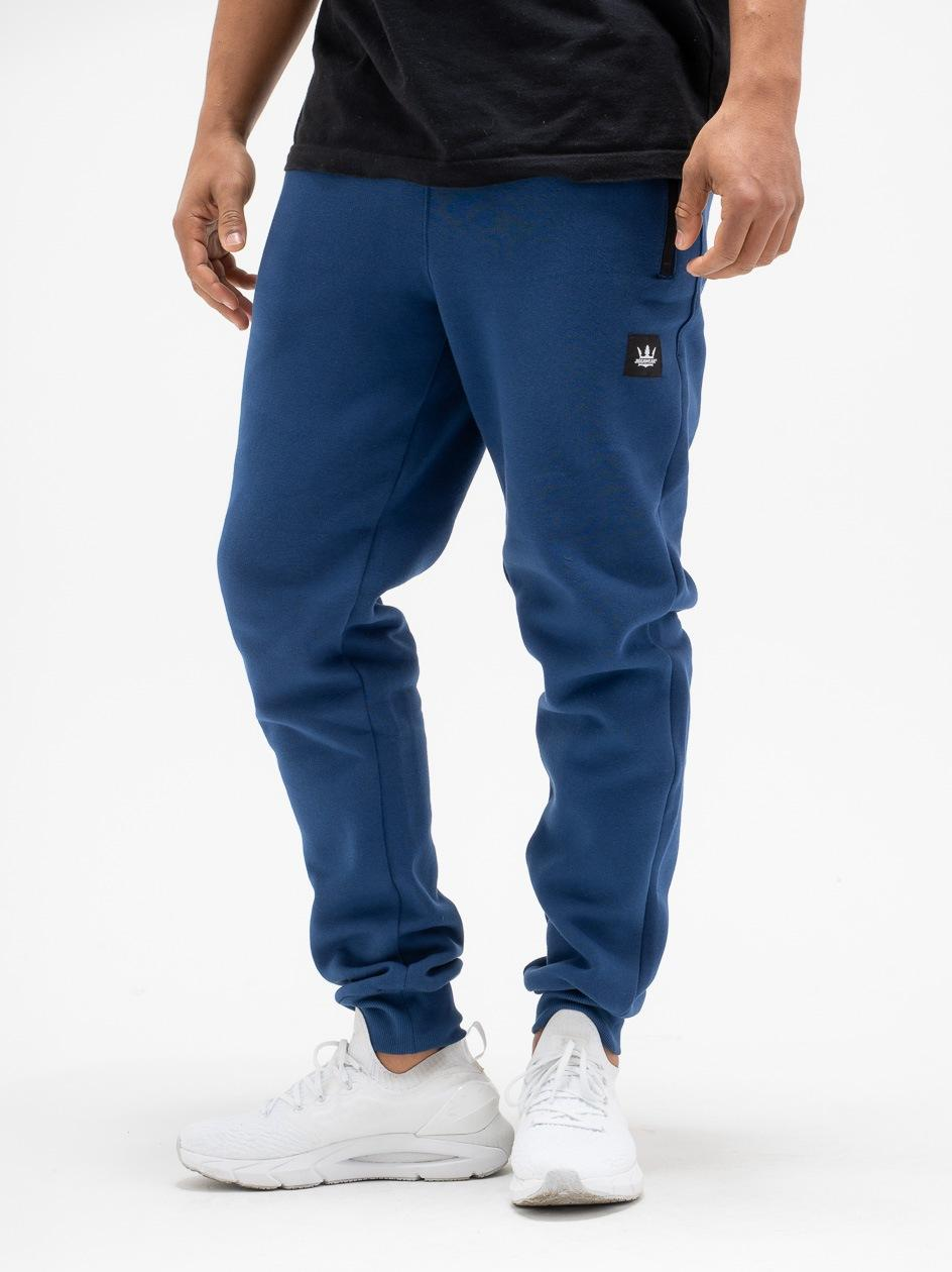 Spodnie Dresowe Jigga Wear Stripe Niebieskie