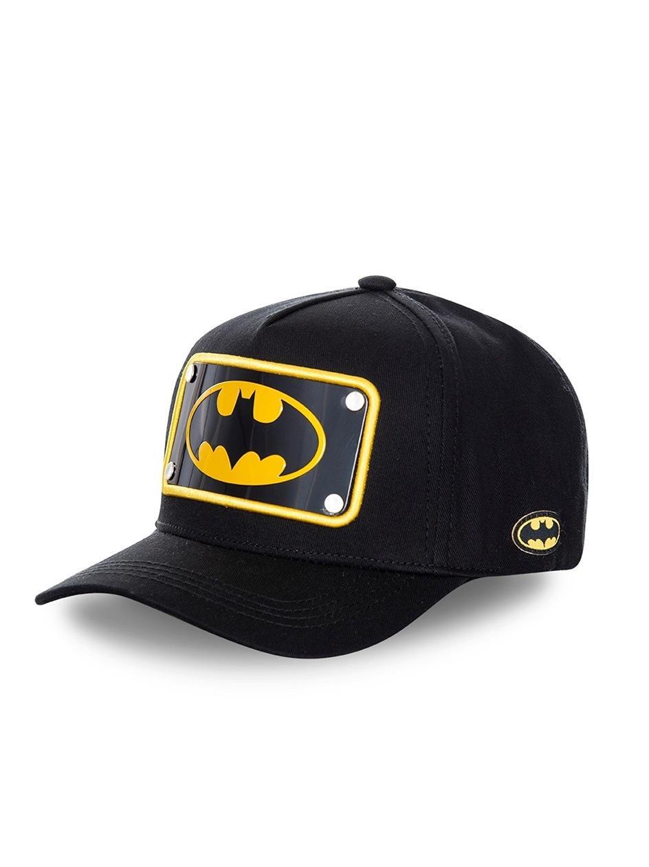Czapka Z Daszkiem Dad Hat Capslab DC Batman Logo Metal Plate Czarna