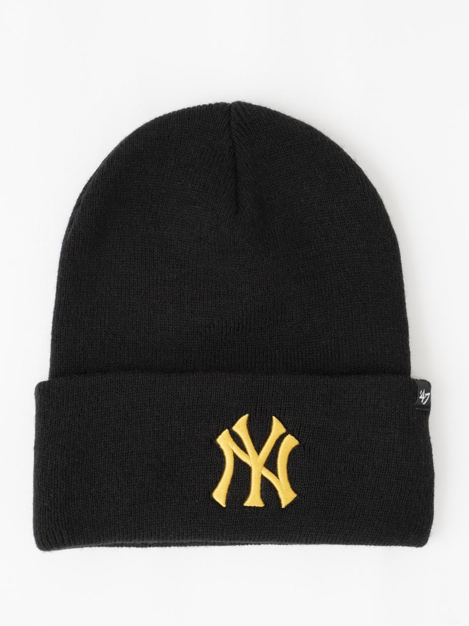 Czapka Zimowa 47 Brand New York Yankess MLB Haymaker '47 Czarna / Złota