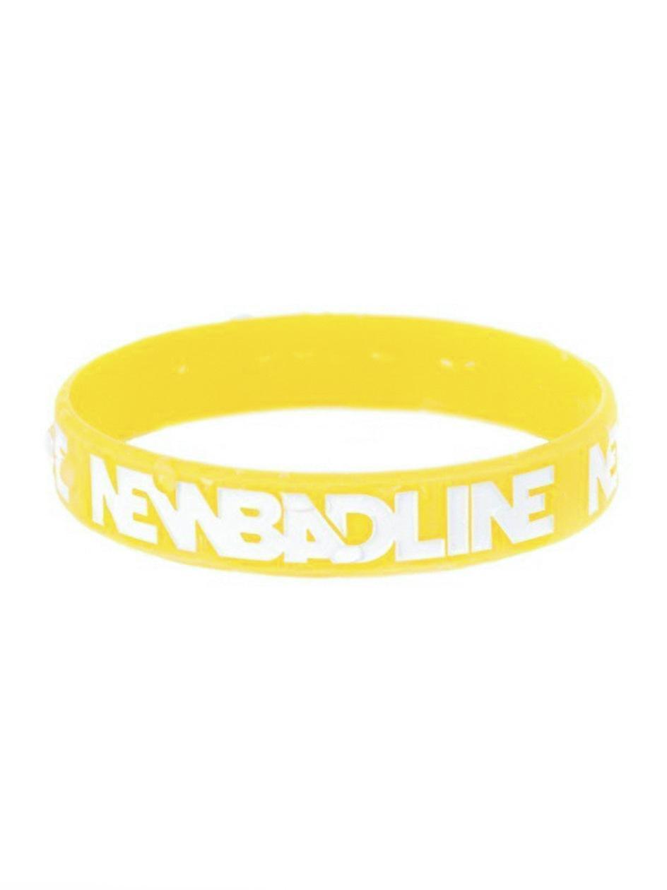 Gumowa Opaska New Bad Line Classic Żółta