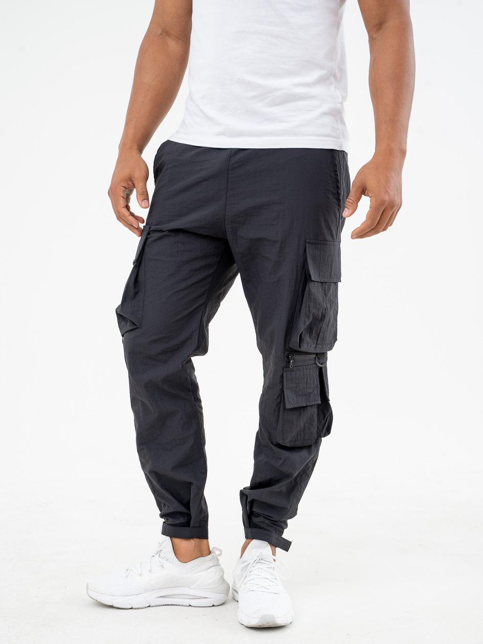 Spodnie Materiałowe Breezy Wright Czarne