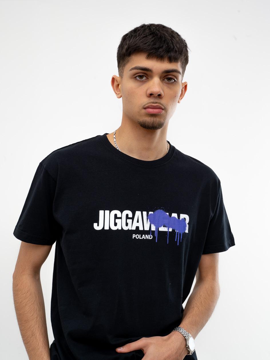 Koszulka Z Krótkim Rękawem Jigga Paint Out Czarna