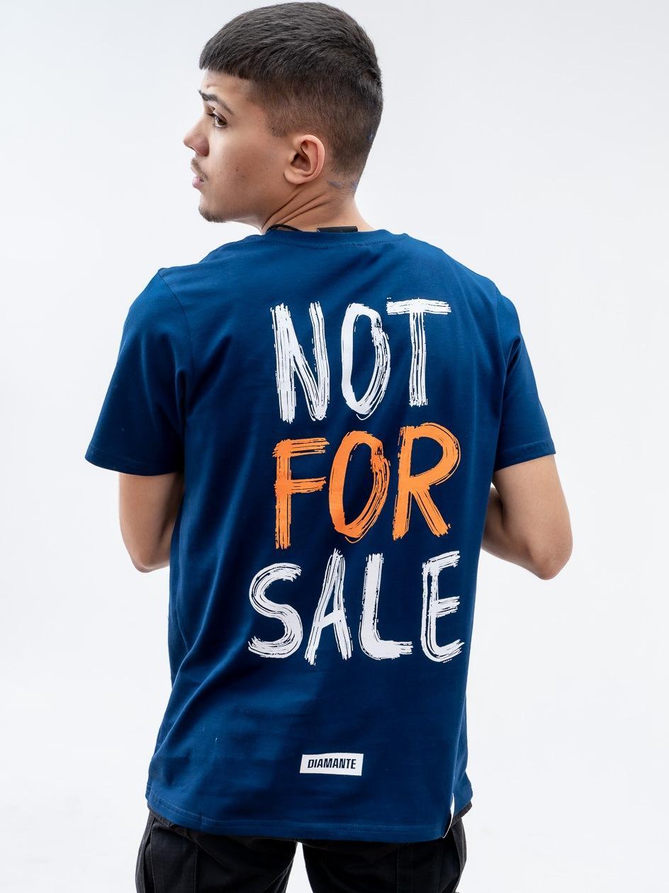 Koszulka Z Krótkim Rękawem Diamante Wear Not For Sale Granatowa
