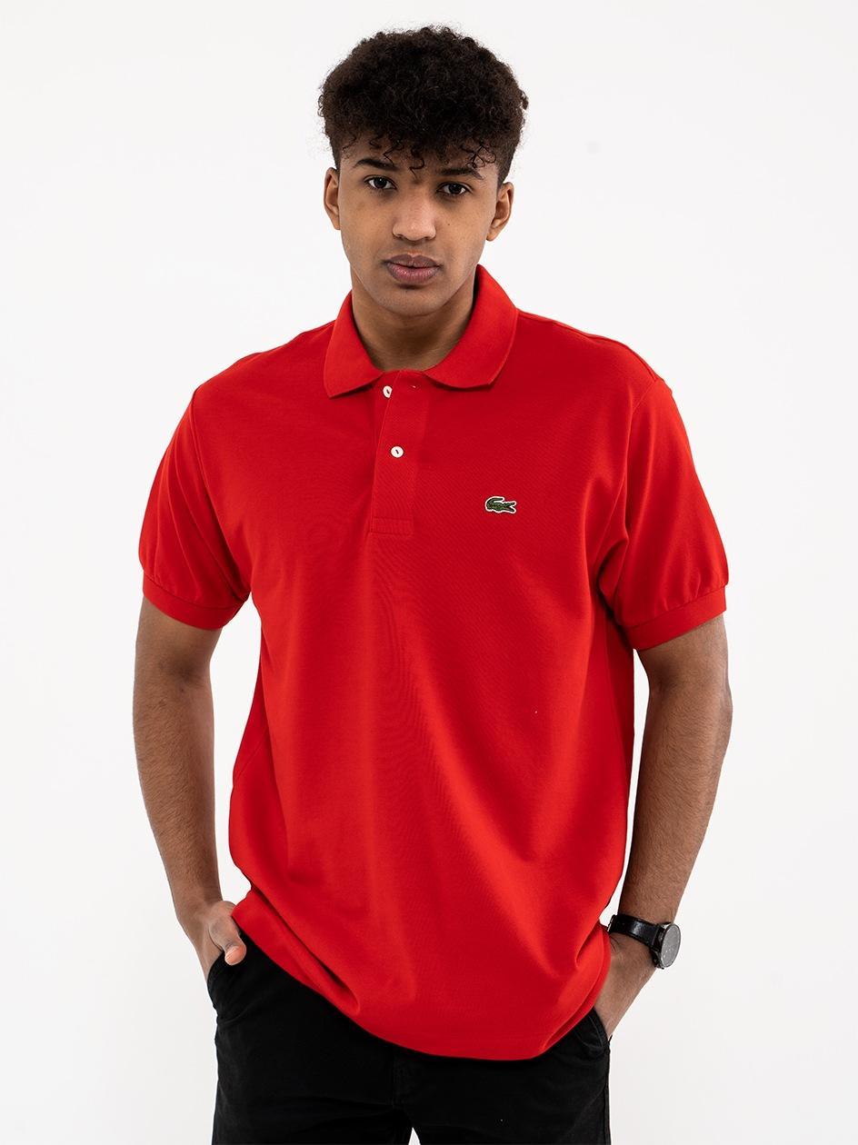 Koszulka Polo Lacoste Classic Czerwona