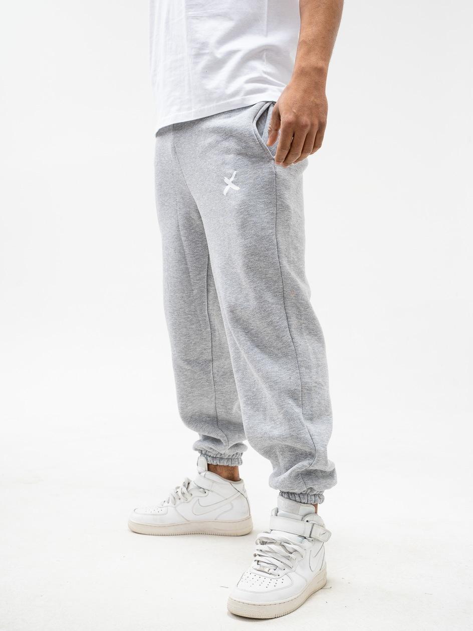 Spodnie Dresowe Point X Mini X Loose Jasny Szary