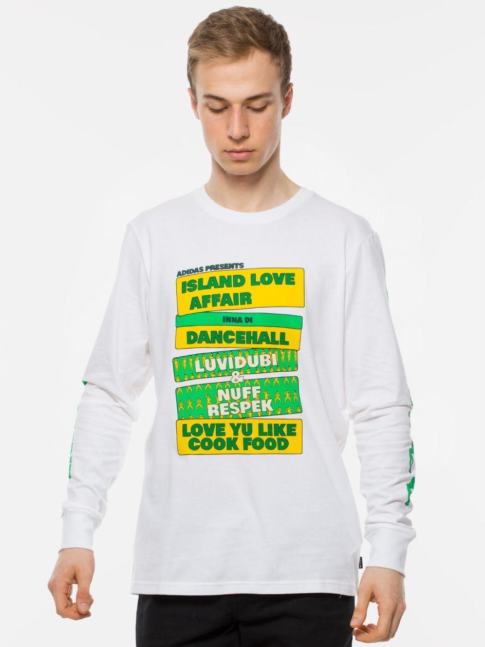 Islnd LV AFFR T White Yellow Green