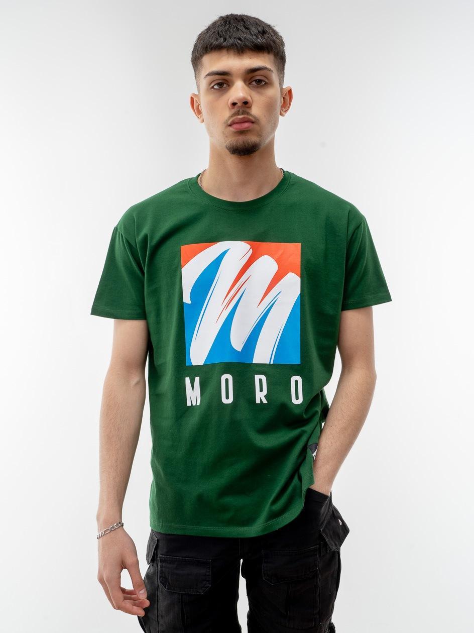 Koszulka Z Krótkim Rękawem Moro Sport Brush Zielona