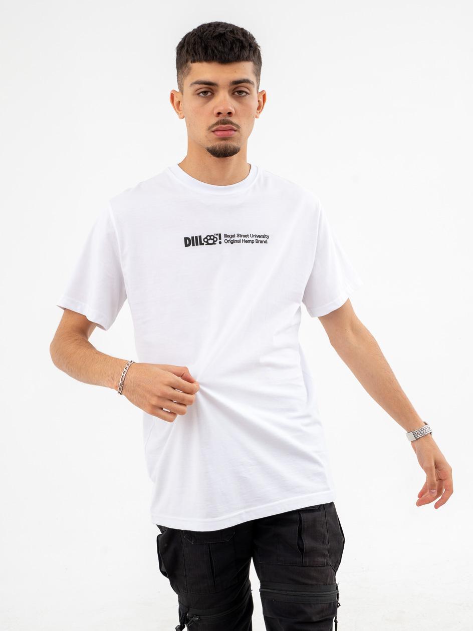 Koszulka Z Krótkim Rękawem DIIL Pattern Biały