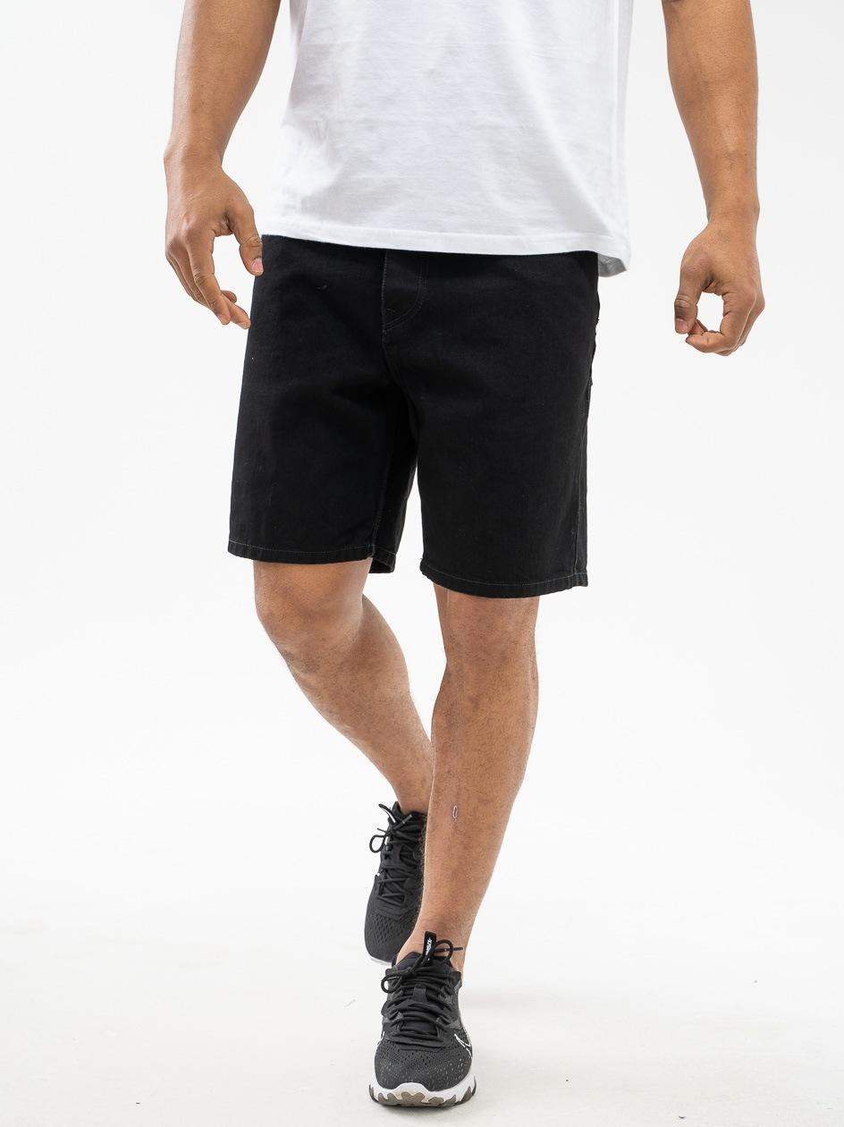 Krótkie Spodenki Jeansowe Carhartt WIP Newel Czarne