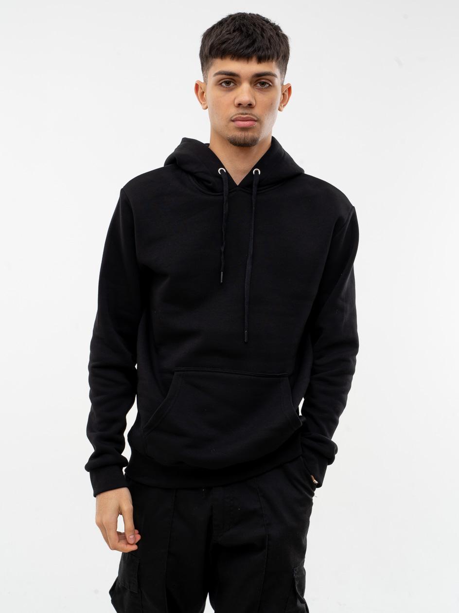 Bluza Z Kapturem Jigga Wear Basic Czarna