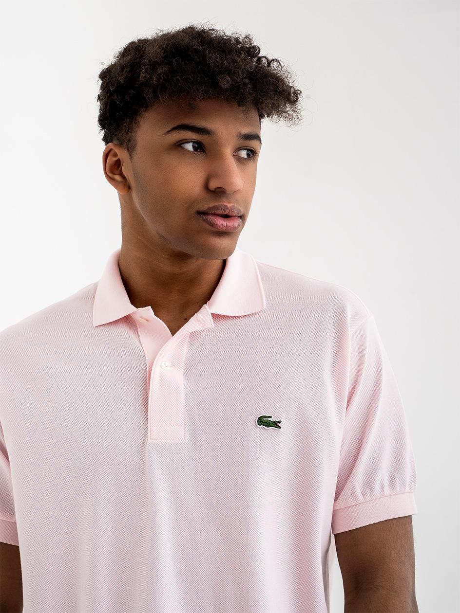 Koszulka Polo Lacoste Classic Różowa