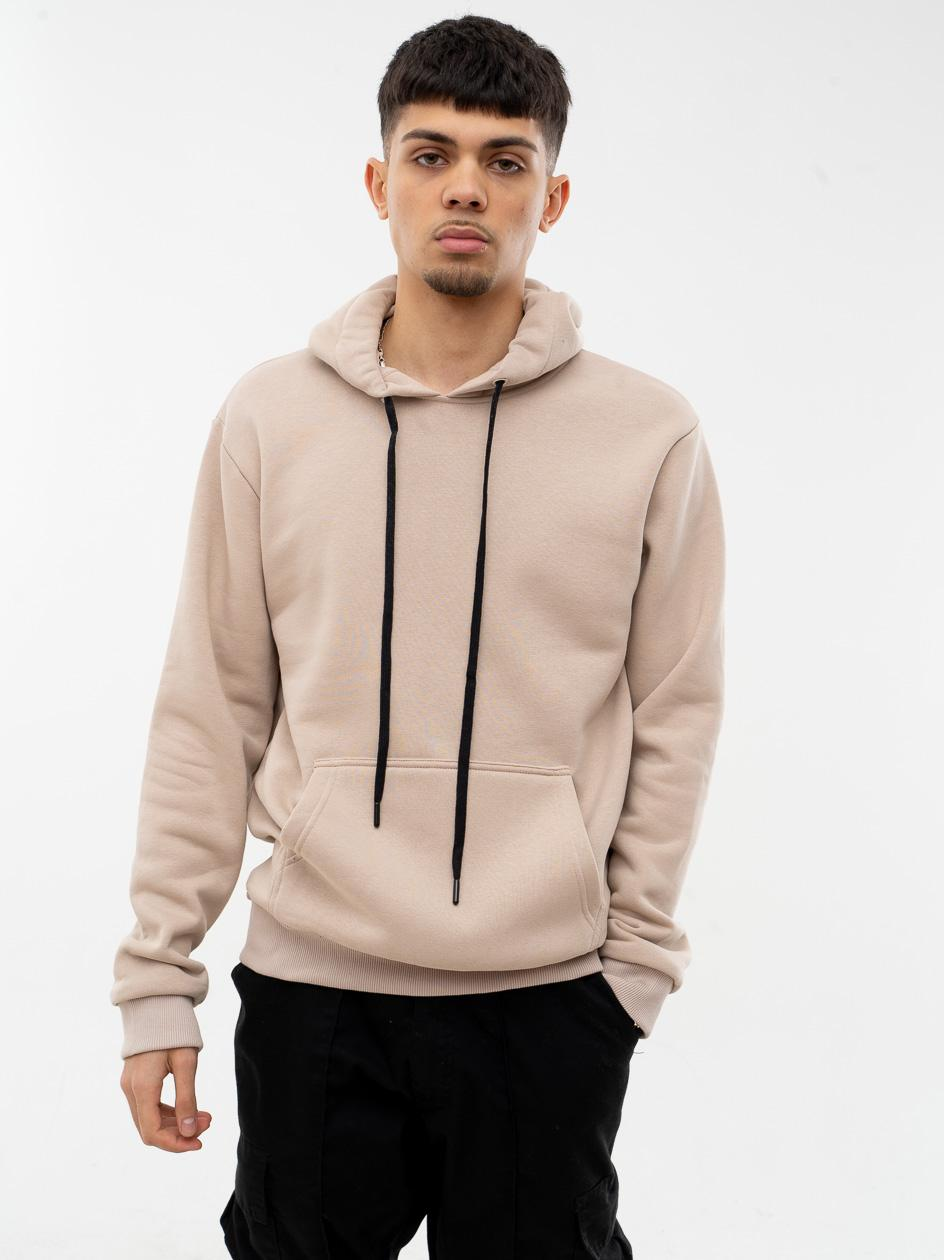 Bluza Z Kapturem Jigga Wear Basic Beżowa