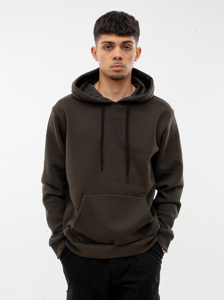 Bluza Z Kapturem Jigga Wear Basic Oliwkowa