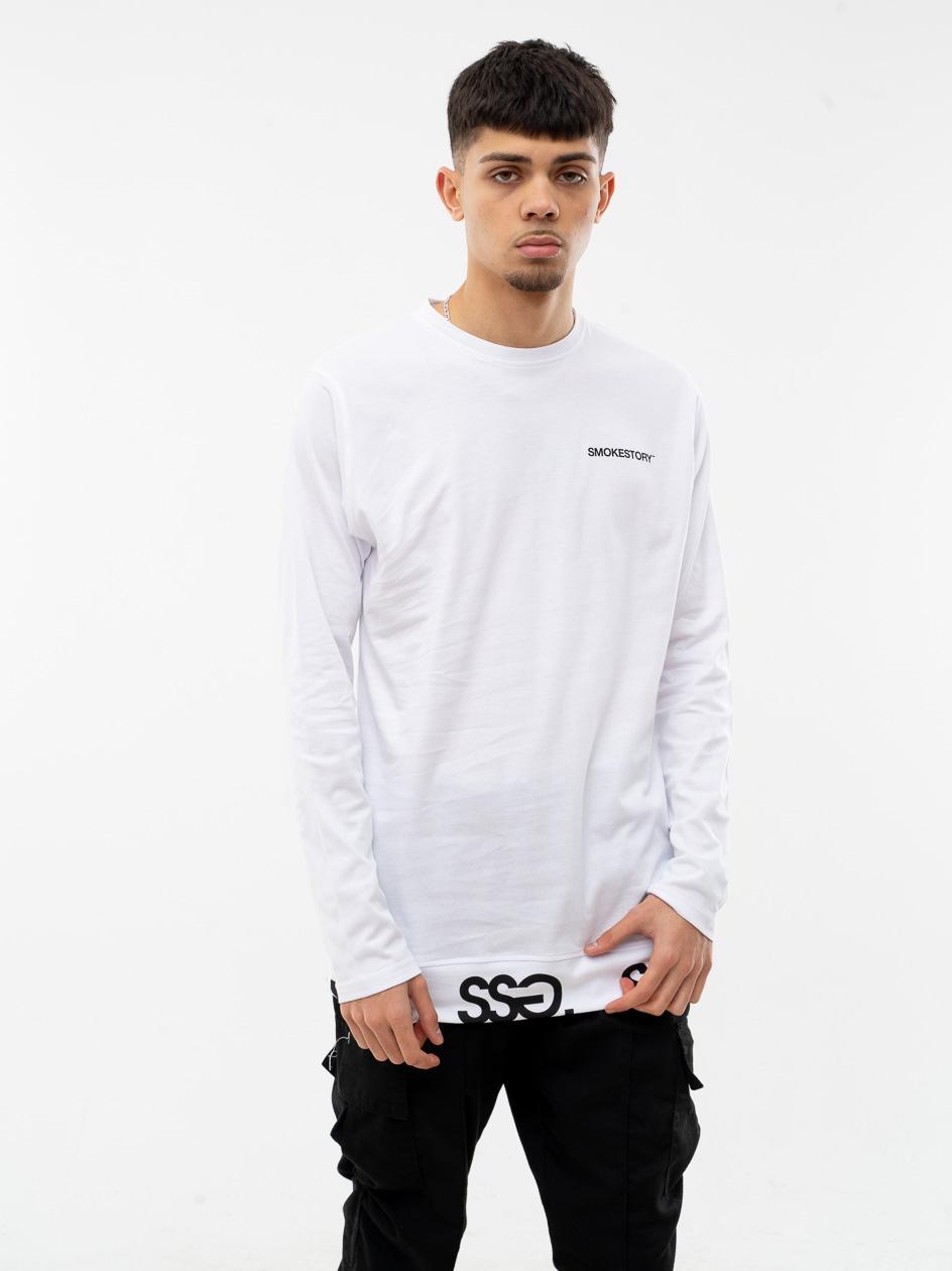 Koszulka Z Długim Rękawem SSG Multissg Biała