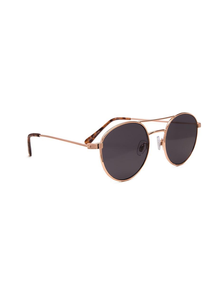 Okulary Przeciwsłoneczne Jeepers Peepers Round Złote