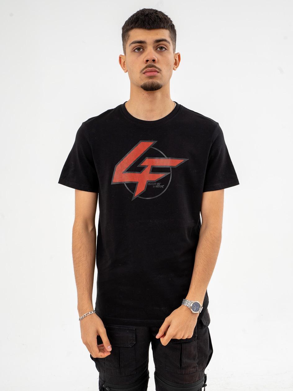 Koszulka Z Krótkim Rękawem 4F Flash Czarna