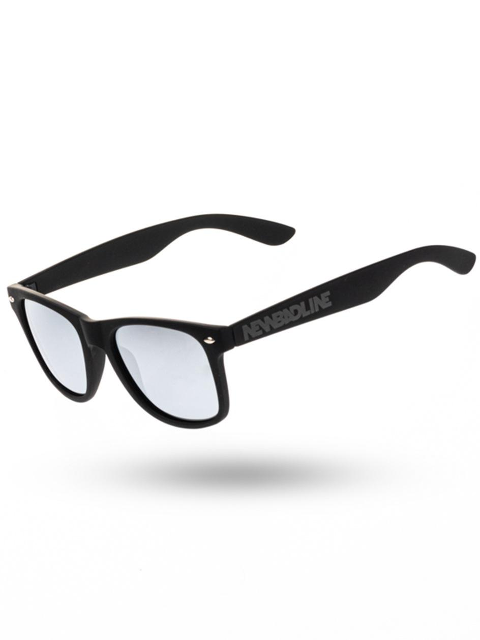 Okulary Przeciwsłoneczne Z Polaryzacją New Bad Line Classic Rubber Czarne / Srebrne