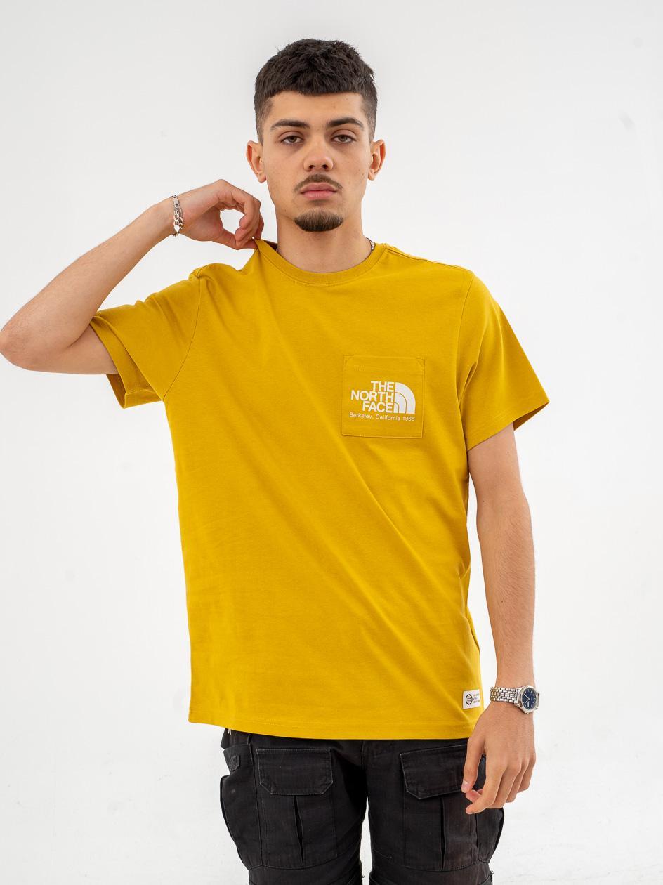 Koszulka Z Krótkim Rękawem The North Face Scrap Bkl Cali Żółta