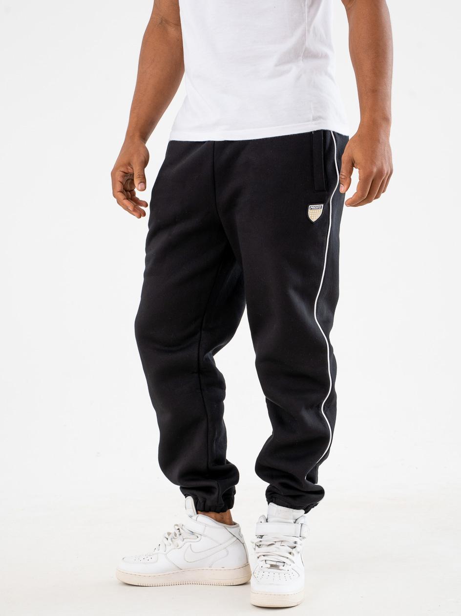 Spodnie Dresowe Prosto Ping Czarne
