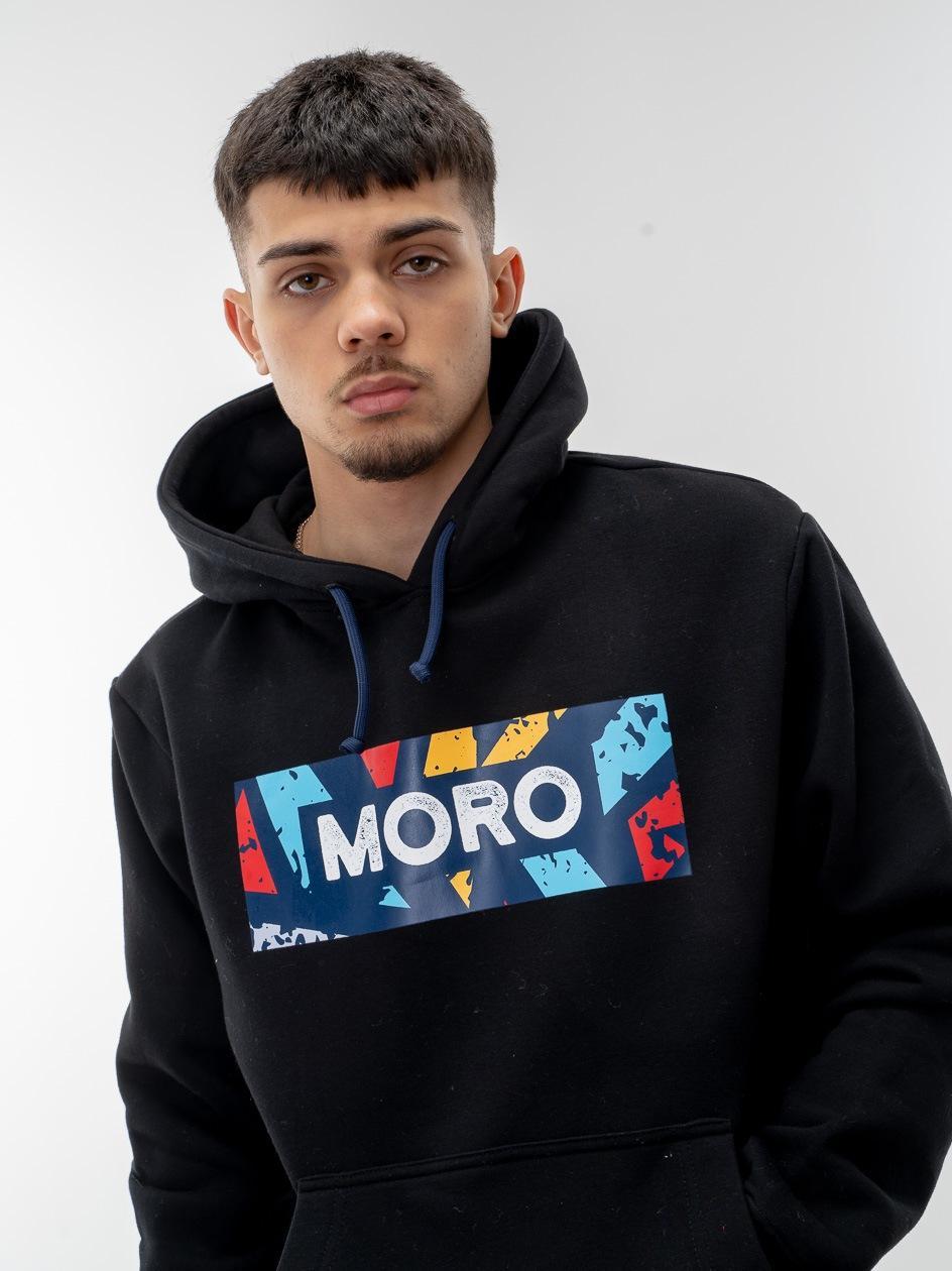 Bluza Z Kapturem Moro Sport Color Set Czarna