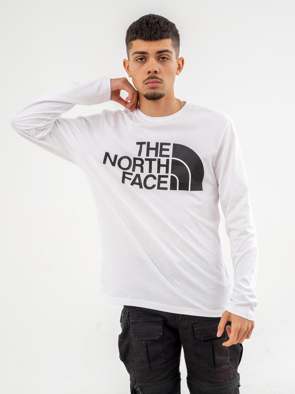 Koszulka Z Długim Rękawem The North Face Standard Biała