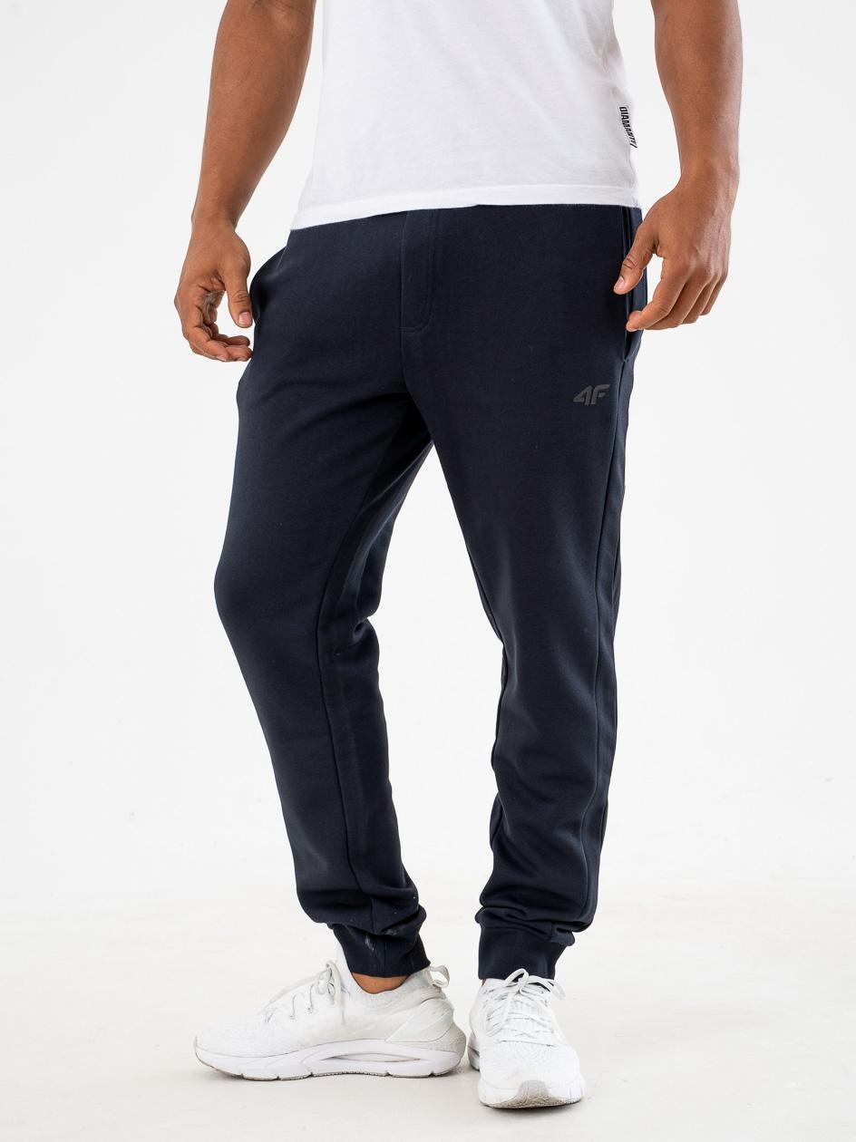 Spodnie Dresowe 4F Small Logo Granatowe