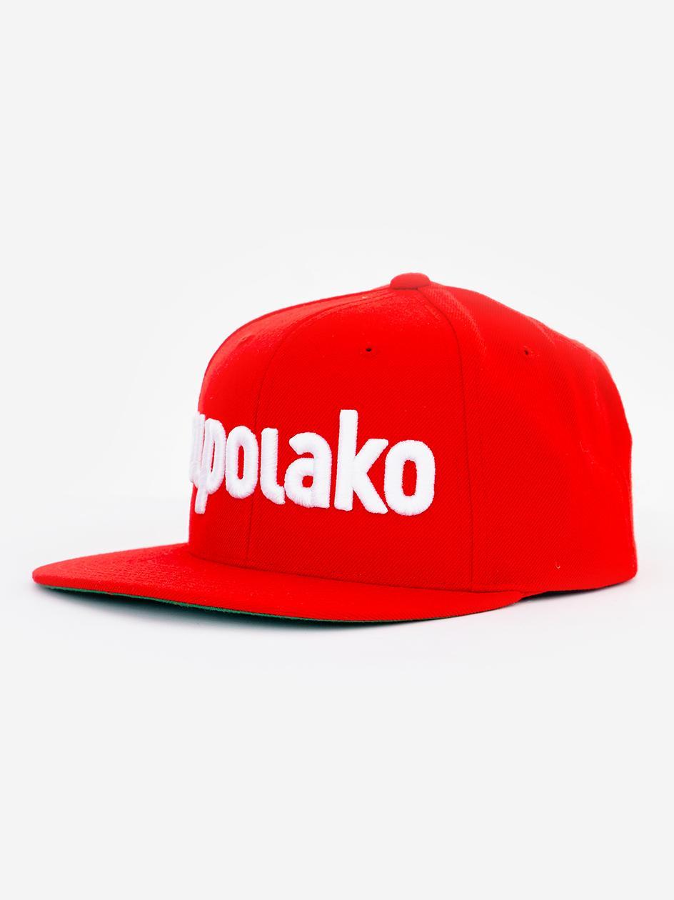 Czapka Z Daszkiem Snapback El Polako Classic Snap Czerwona