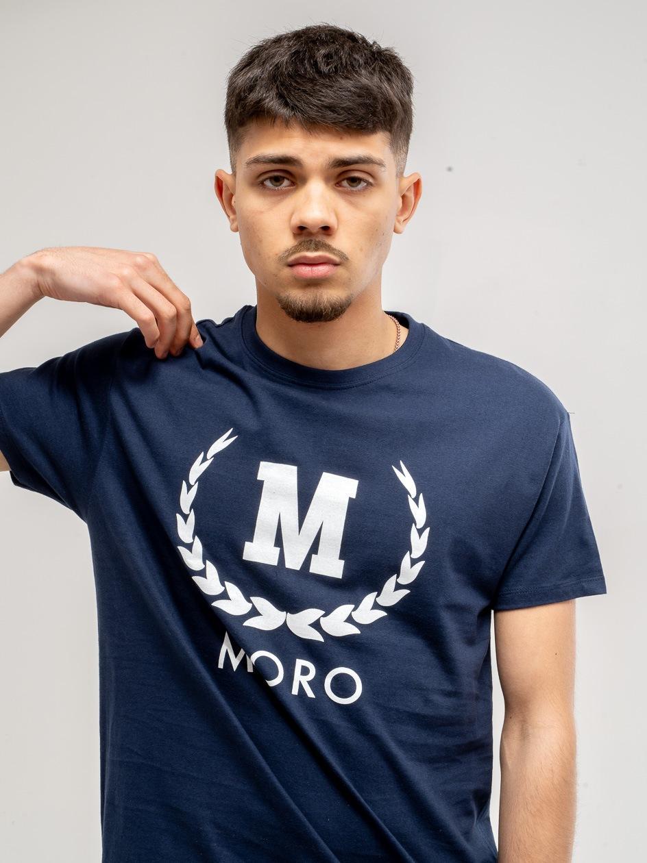 SS21 Koszulka z Krótkim Rękawem Moro Sport New Laurel Granatowa