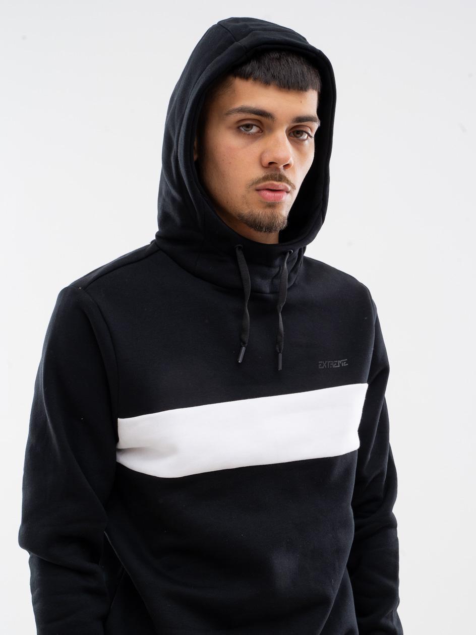 Bluza Z Kapturem 4F Stripe Czarna