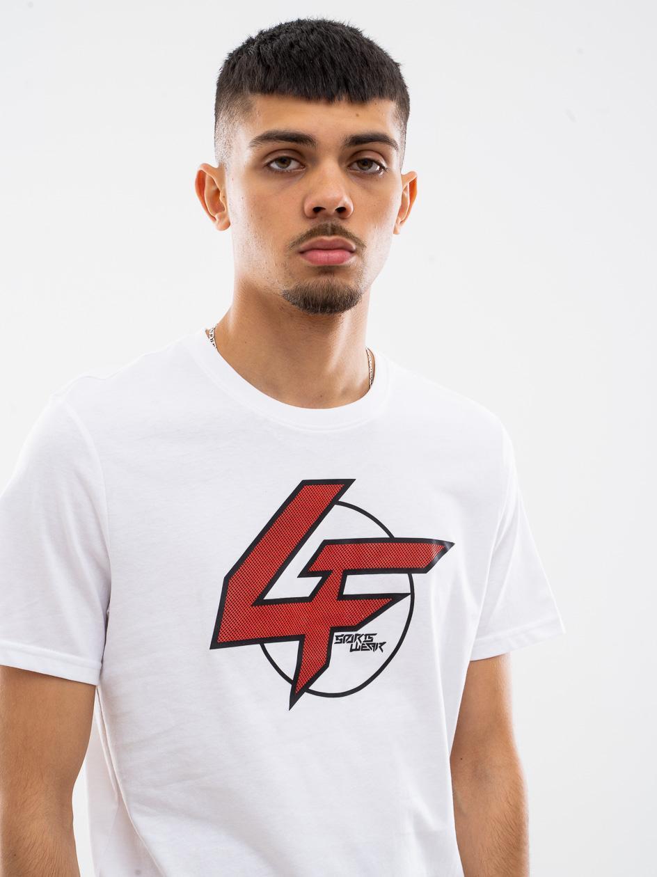 Koszulka Z Krótkim Rękawem 4F Flash Biała
