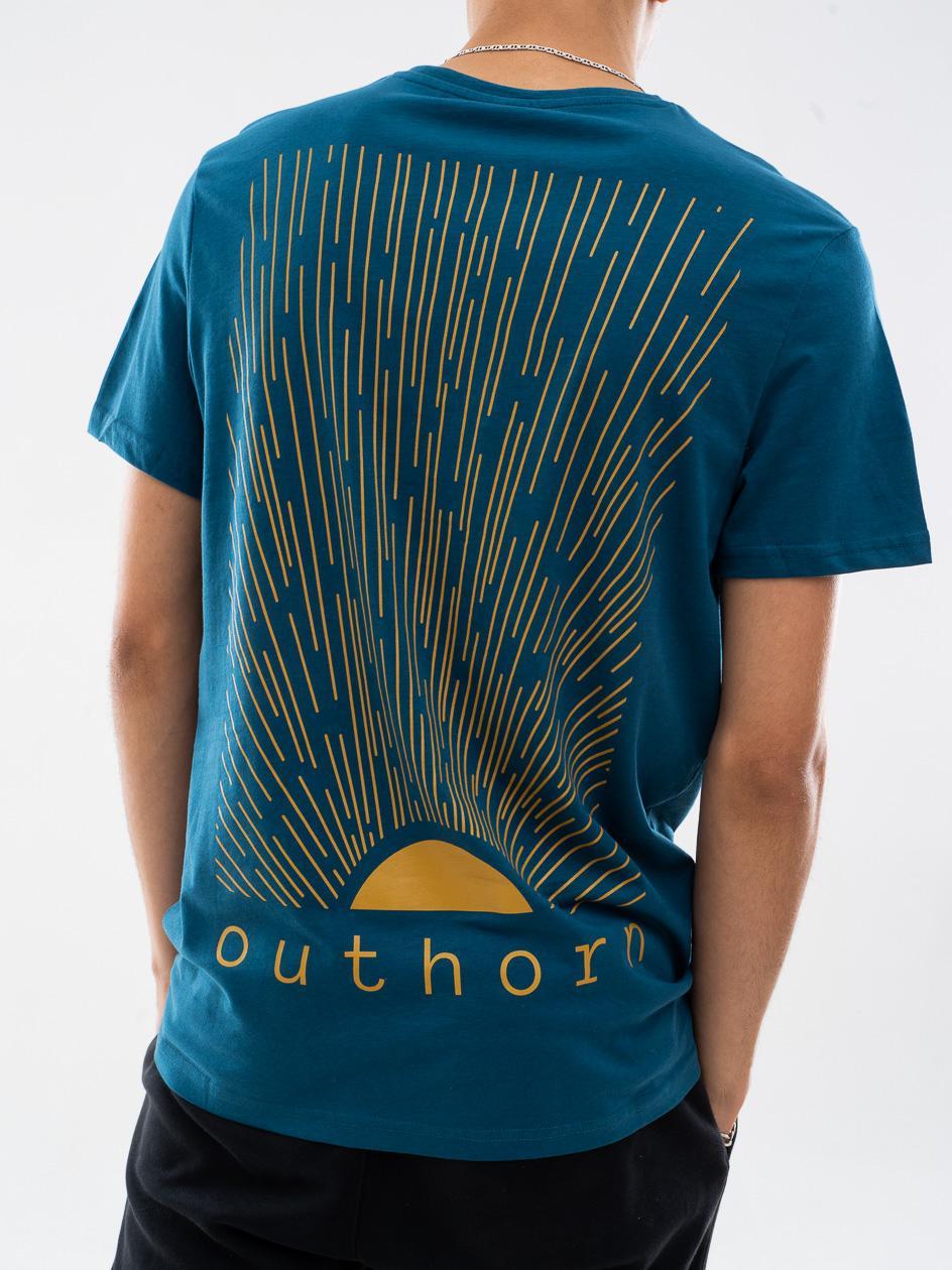 Koszulka Z Krótkim Rękawem Outhorn Sun Niebieska