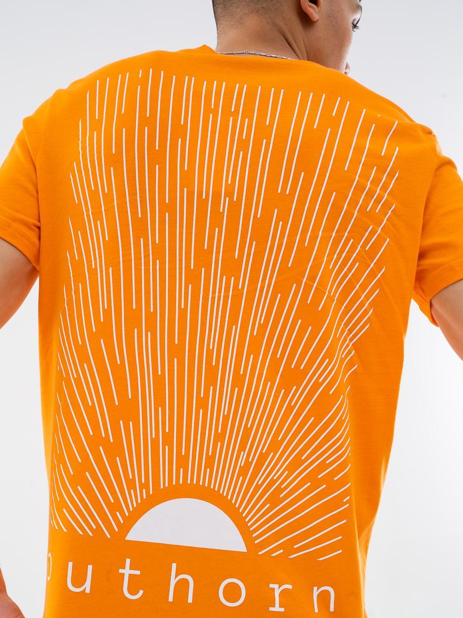 Koszulka Z Krótkim Rękawem Outhorn Sun Pomarańczowa