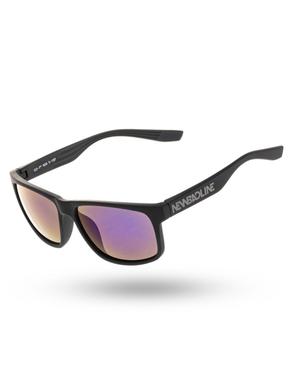 Okulary Przeciwsłoneczne New Bad Line Array Navy Mirror Czarne