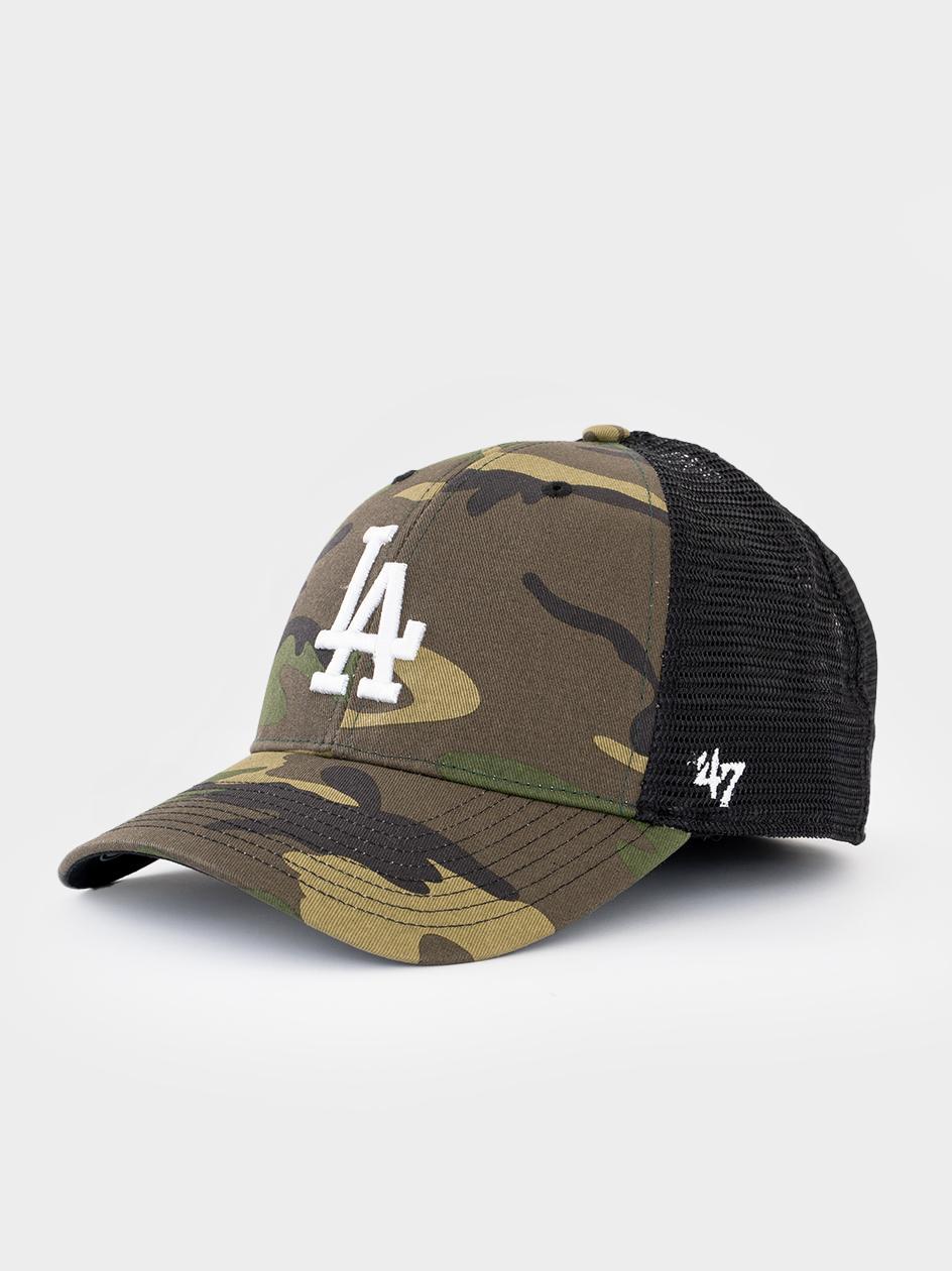Czapka Z Daszkiem Trucker 47 Brand Los Angeles Dodgers MLB Branson Camo / Biała